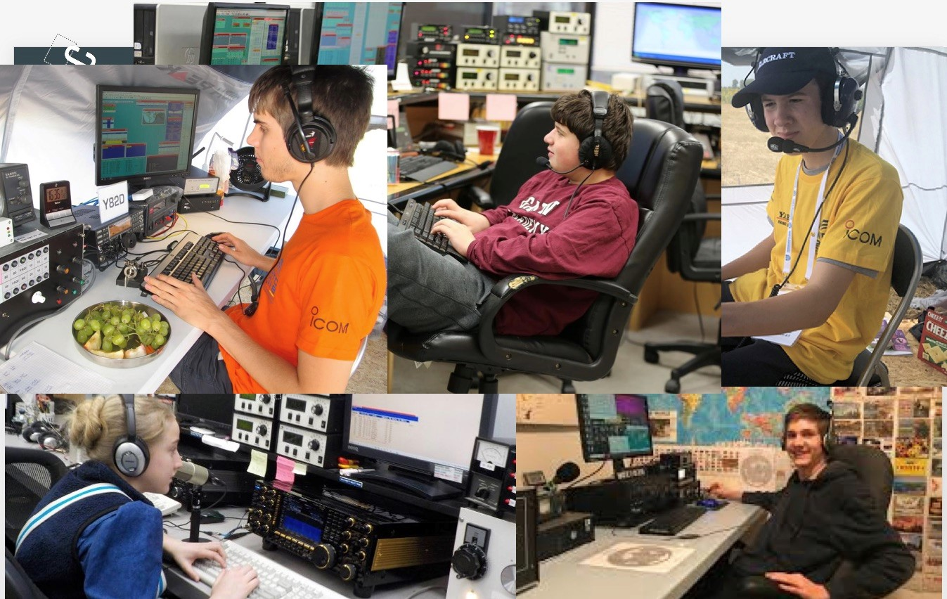 Ham Radio Contest Calendar 2022.World S Top Young Contesters To Visit Dx Engineering Onallbands