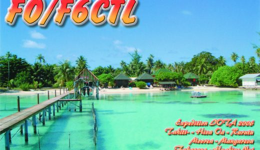 It's All in the Cards: QSL Cards from French Polynesia