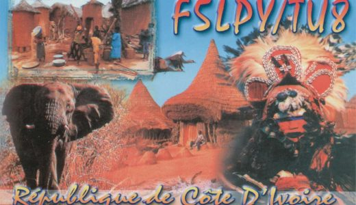 It's All in the Cards: QSL Cards from the Ivory Coast