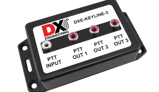 New Products Showcase: Turnbuckles, Transceiver Key Line Splitters, and DX Engineering Logo Jackets