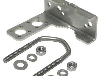 Ham Products for Effective Grounding and Lightning Protection: DX Engineering Coax Grounding Brackets