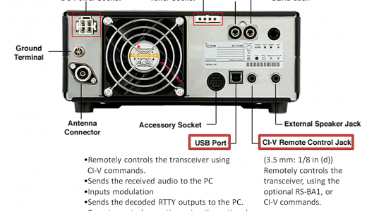 Making the CI-V Connection