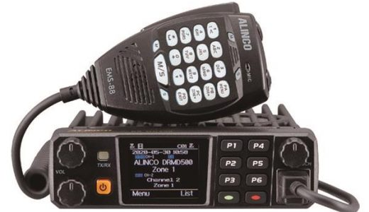 Videos: Unboxing and Reviewing the New Alinco DMR Mobile DR-MD500T Radio