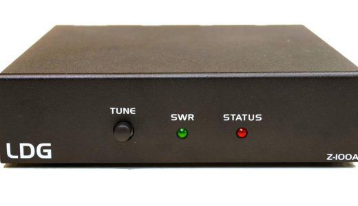 LDG-Z-100A-DXE Automatic Antenna Tuner with Seven Cable Package Available Exclusively from DX Engineering