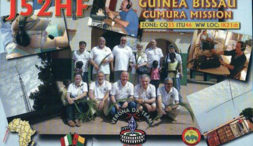 It's All in the Cards! QSL Cards from Guinea-Bissau